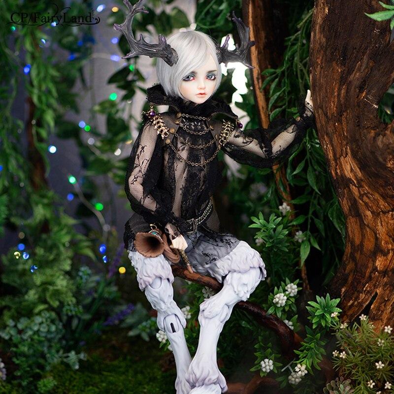 Neue Ankunft Minifee Altis BJD Puppe 1/4 Fairyline Faun Geweih Horn Optionen Fantasie Männlichen Feen Einzigartige Figur Spielzeug Für Mädchen FL-in Puppen aus Spielzeug und Hobbys bei  Gruppe 2