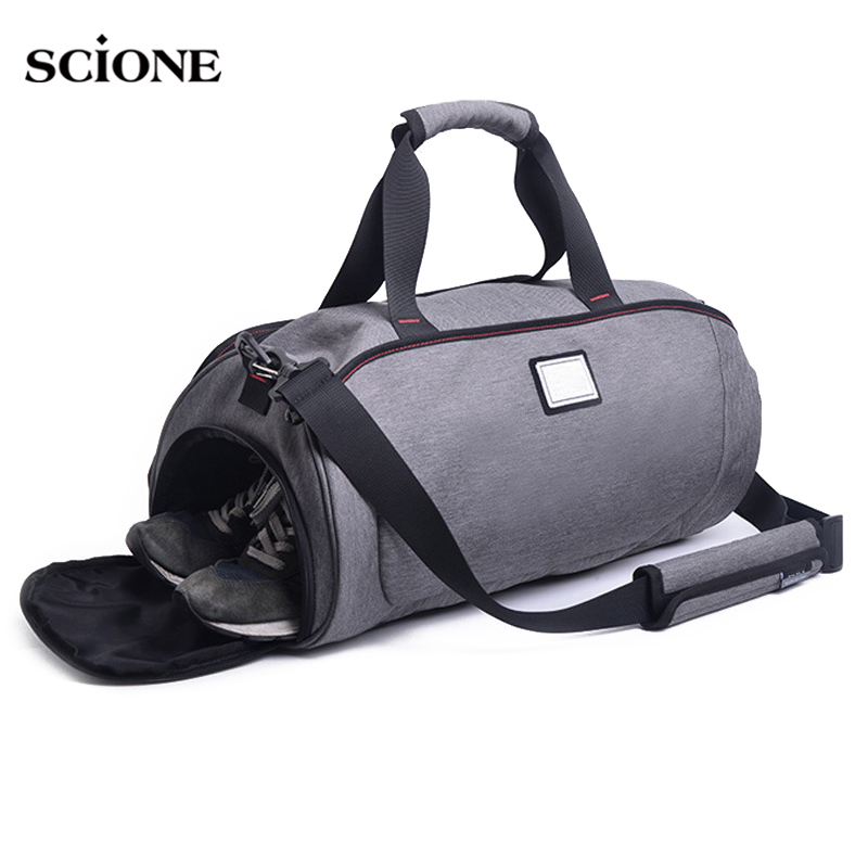 Waterproof Sports Gym Bag for Women Men Fitness Yoga Crossbody Tote Travel Luggage Bags Shoes Storage Shoulder Handbag XA584YL baby snowsuits hooded jumpsuit white duck down jackets for boys girls winter snow coats kids clothes infantil thicken rompers