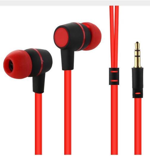 2016 New NK-18 in-ear earphone Sports 3.5mm Mobile Phone earphon no Microphone Fat line Music Explosion Earphone Earplug Noodles