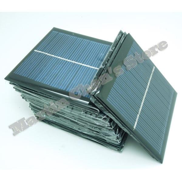 Free Shipping 10pcs Lot 5 5v 140ma 0 77w Mini Small Solar