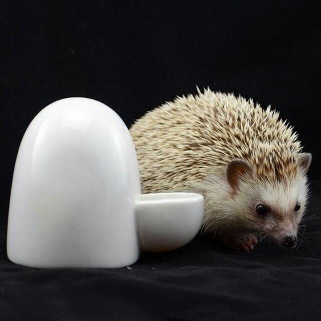 Ceramic Water Bottle Automatic Pet Hamster Rabbit Feeders Silent Little Pet Drinking Bottle Food Dispenser For Hamster 3