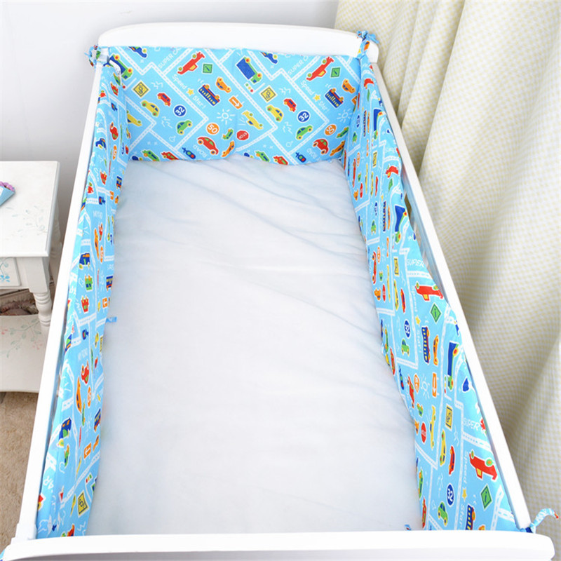 Baby Bedding Kit For Infantile Bed Kit Bedskirt Pure Cotton Cartoon image