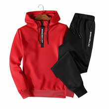 09398cf16d6c Fashion Men Hoodies Casual Pullovers Round Collar Male Sportswear Tracksuit  Hooded Mens Hoodies and Sweatshirts Oversize