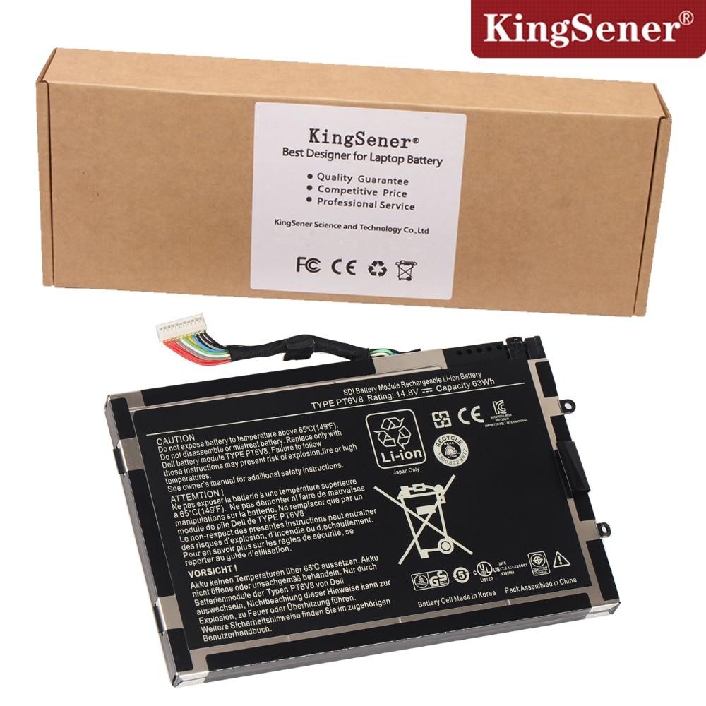 Korea cell original original neue pt6v8 laptop akku für dell Alienware M11x...