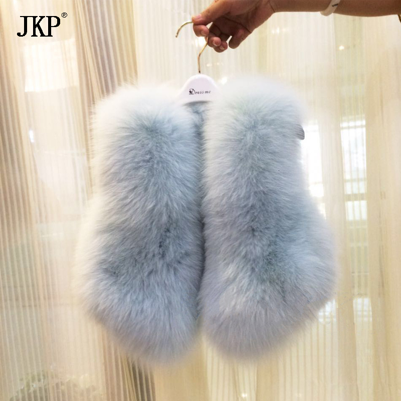 Kids Real Fox Fur Vest Girl natural Fox Fur Vest Coat Baby Warm Winter Children Fox Fur jacket 5 colors 2017 new long fur coat parka winter jacket women corduroy big real raccoon fur collar warm natural fox fur liner