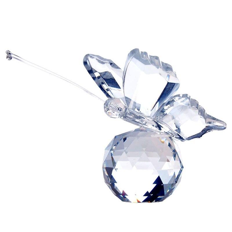 H & D κρύσταλλο πεταλούδα καθαρό - Διακόσμηση σπιτιού - Φωτογραφία 1