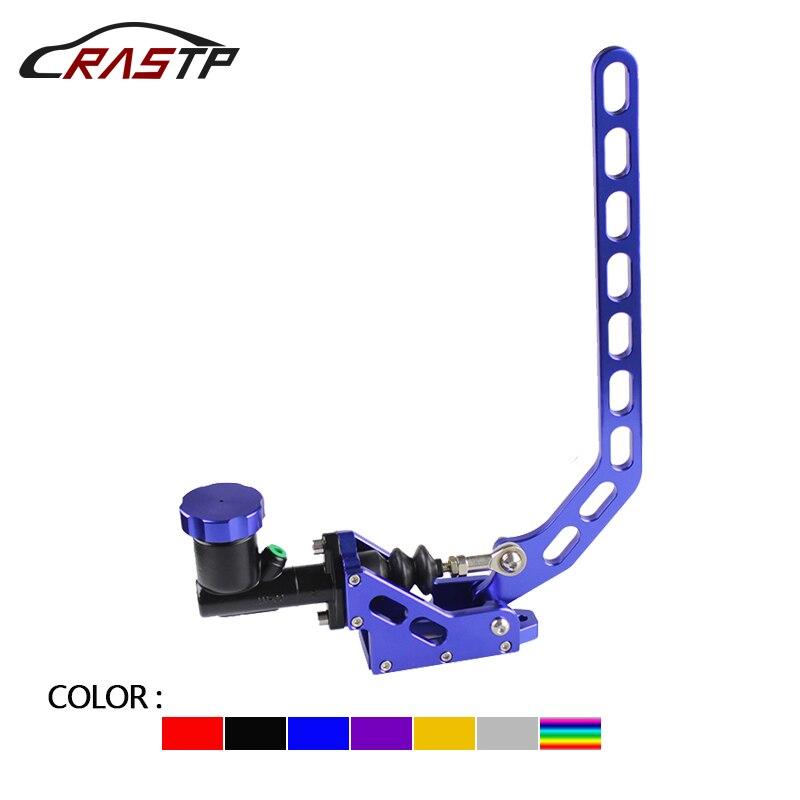 цена RASTP-Racing Style Aluminum Hydraulic Drift Hand Brake Handbrake Lever Gear With Locking Oil Tank RS-HB917 в интернет-магазинах