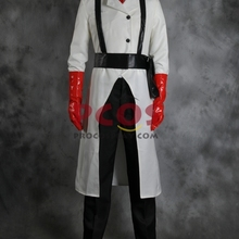 procosplay Team Fortress 2 Medic White Cosplay Costume Custom mp000577