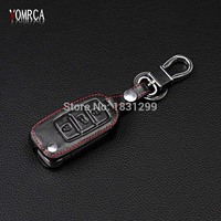 Genuine Leather Car Key Cover For Volkswagen VW GOLF 4 5 6 Passat B5 B6 Tiguan Touran Polo Scirocco Jetta mk5 mk6 Accessories|golf mk6 key cover|key cover volkswagen|volkswagen polo key cover -