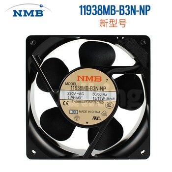 Nuevo ventilador de refrigeración NMB-MAT NMB 11938MB-B3N-NP 230 V