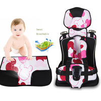 4 12 Years Old Baby Car Safety Seats Portable And Comfortable Infant Safety Seat Sweat