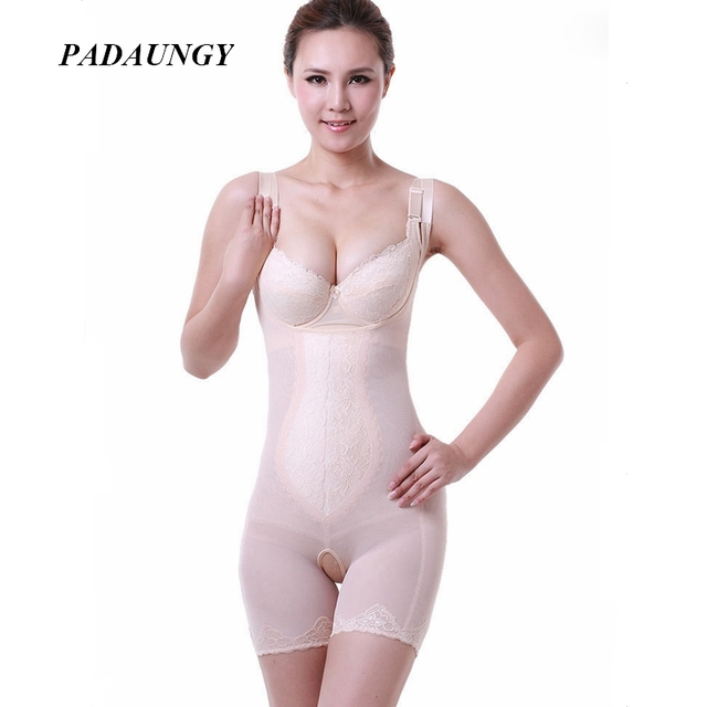 63279b7337 PADAUNGY Invisible Bodysuit Hot Shapers Push Up Shapewear Waist Trainer  Belly Sheath Bodysuits Full Slip Body Shaper Butt Lifter