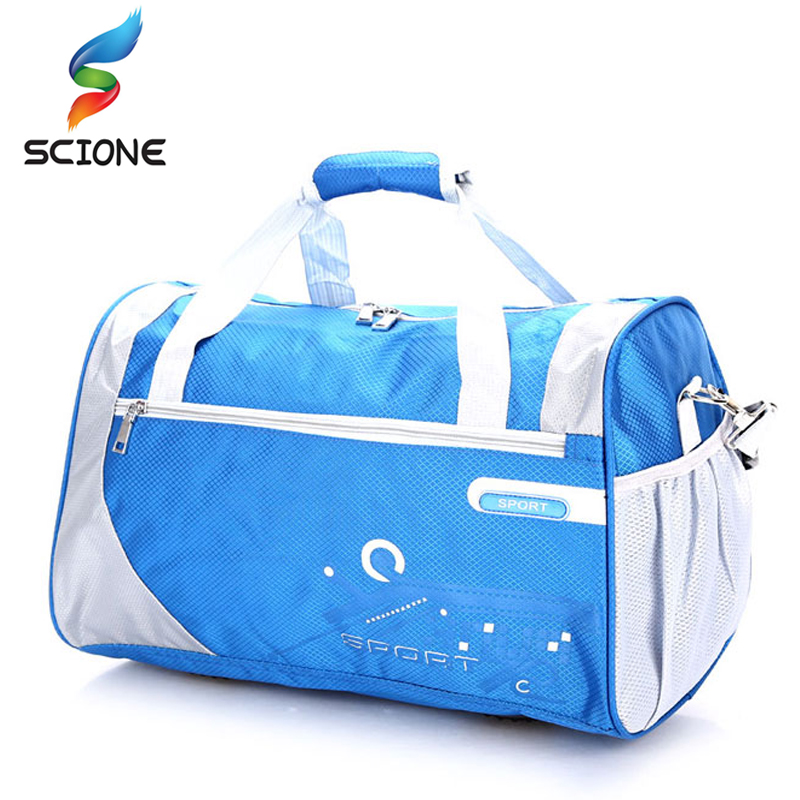 New Top Quality Nylon Outdoor Portable Waterproof Sport Bags Professional Men And Women Large Capacity Gym Training Bag