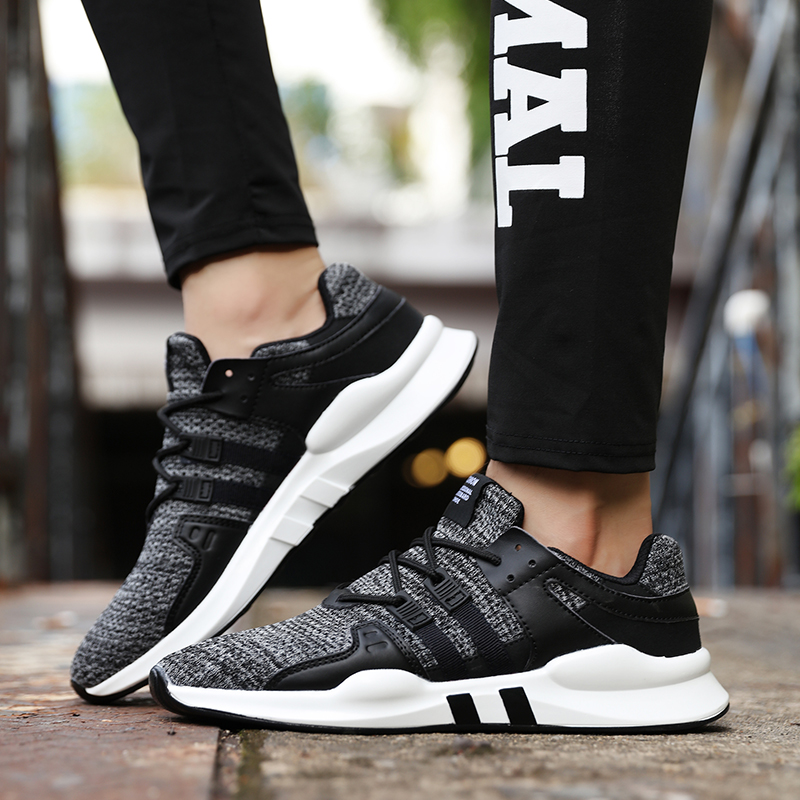 2018 Light Running Shoes Sports Shoes Breathable Soft marathon Sneakers Comfort Fitness Four seasons models Men Sport Footwears