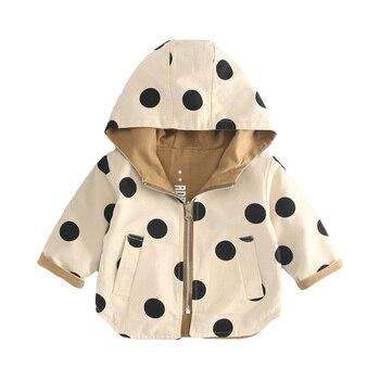 3a5e5690a Dulce Amor bebé niños chaqueta niño desgaste en ambos lados cortavientos  niños otoño abrigo bebé niños niñas ropa