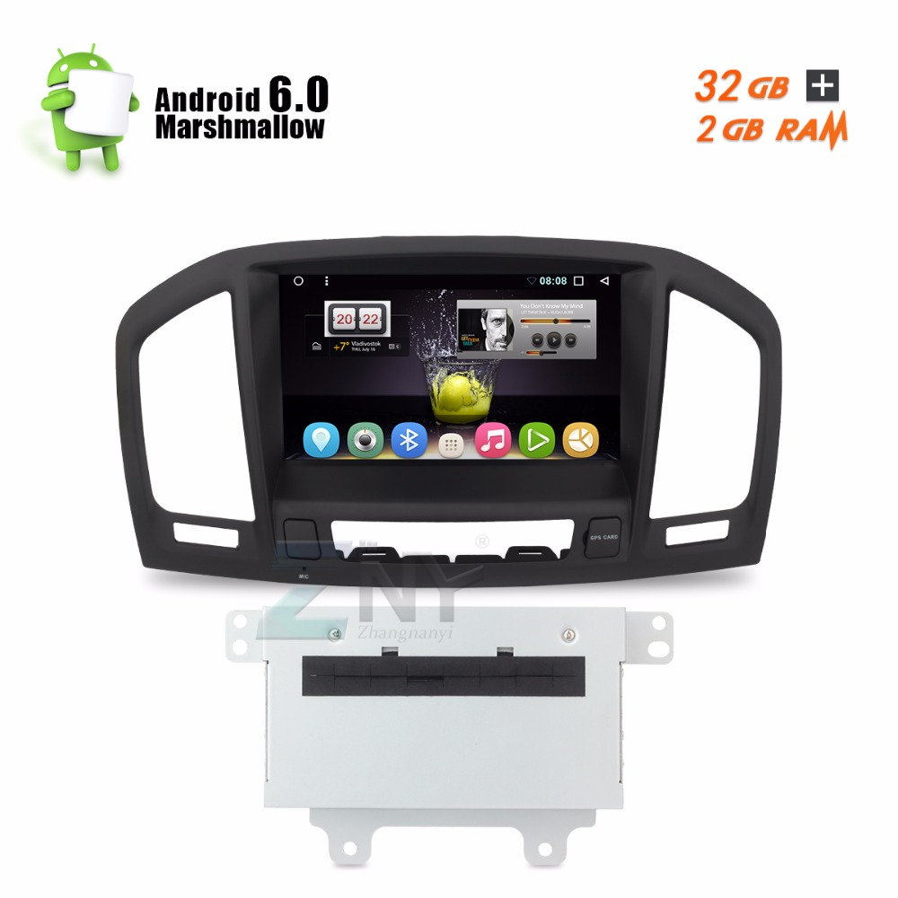 Android 7.1 Car Stereo For Insignia 2009 2010 2011 2012 CD300 CD400 Auto  Radio PC DVD