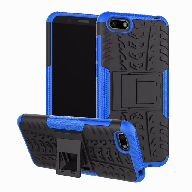 Hybrid Hard Case on for Huawei Honor 7A Case Honor 7A DUA-L22 Silicone Rugged Bumper Shockproof Cover for Honor 10i 8X 8A 7C 7S