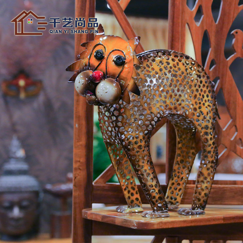 Thousands of unigarden Lucky Cat ornaments product iron Home Furnishing decorative wedding gift creative decoration talisman special offer