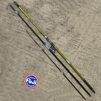 Zunzun 4.2m super strong carbon surfcasting rods all fuji components 3 sections 100 to 250g