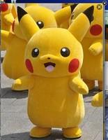 Hoogwaardige Deluxe Pikachu Mascotte Kostuum Cartoon Kostuums Fancy Dress/Party Pak