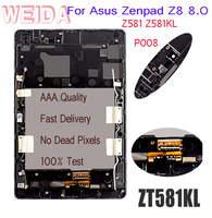 WEIDA LCD Replacement 8 For Asus Zenpad Z8 8.0 ZT581KL LCD Display Touch Screen Assembly Frame P008 Z581 Z581KL