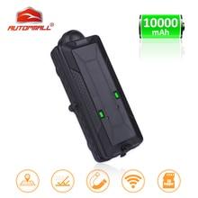 TK10 GPS GSM WIFI Position GPS Tracker Auto Wasserdichte IPX7 Magnet Rastreador SD Offline Daten Logger Tracking 10000mAH Batterie
