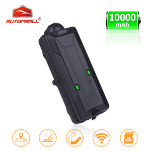 Image 1 - TK10 GPS GSM WIFI Position GPS Tracker Car Waterproof IPX7 Magnet Rastreador SD Offline Data Logger Tracking 10000mAH Battery