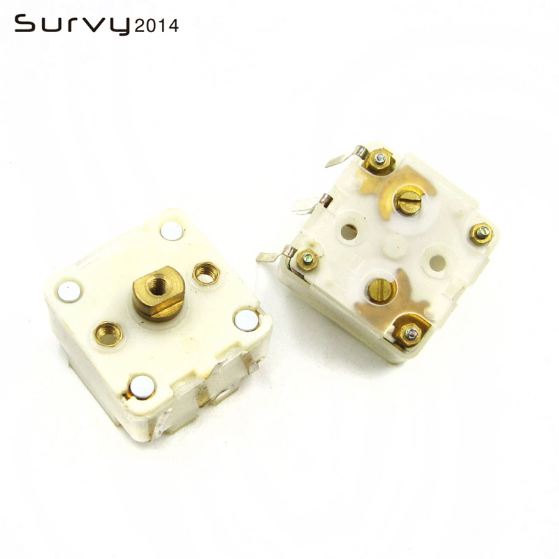 2x 223F Style Dual 20pF Variable Capacitor for FM Radio TEUS/_jyHH