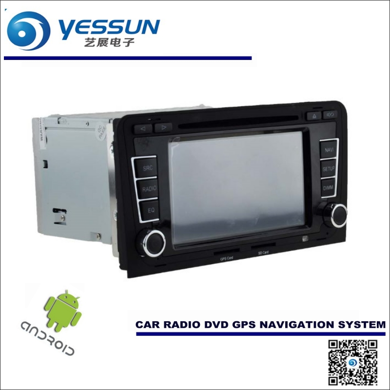 Android Sistema de Navegación del coche Para Audi A3 S3 RS3 2003 ~ 2013 a Radio