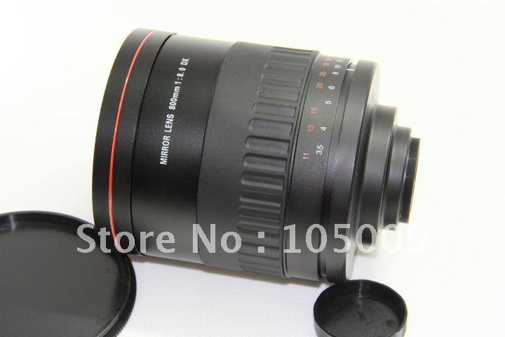 900mm f8 T Montage MIROIR TÉLÉOBJECTIF pour canon 5dii 550d 60d 650d 6d 7d 600d caméra
