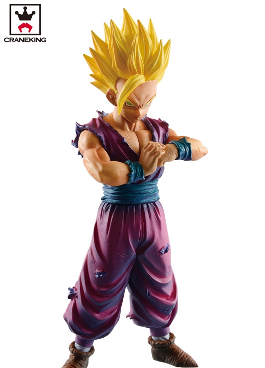 Dragon Ball Z Resolution of Soldiers VOL 2 Son Gokou Son Gohan Figure Super Seiya Original Banpresto DXF Action Figuras Model [pcmos] anime dragon ball z ros resolution of soldiers awaken son gokou 57 pvc figure 15cm 6in toys collection no box 5932 l