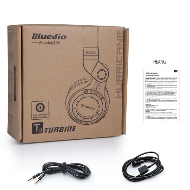Original Bluedio Bluetooth Stereo Headphones 5