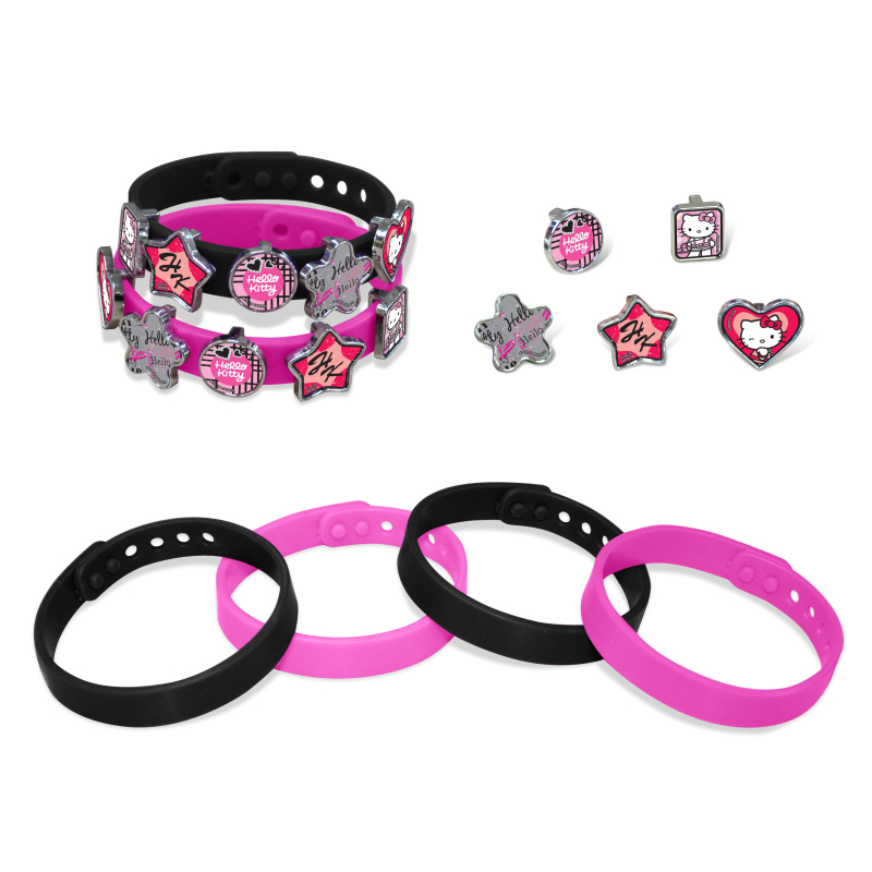 HELLO KITTY  Bracelets Fun Freaky Lustige Armbander Pulseras Pulseiras Glamour Girl's Gift Beaded Beads To'y's