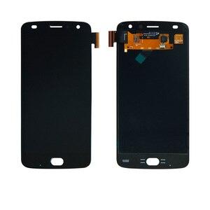 Image 2 - 5.5 OLED モトローラモト Z2 再生の液晶タッチスクリーン交換モト Z2 表示 XT1070 黒
