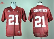 6f9f4c222 ... Nike Alabama Crimson Tide Dre Kirkpatrick 21 White College Boxing Jersey  (China) .