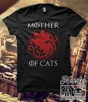 Hillbilly Повседневное футболки мать кошки harajuku футболки Для женщин Топы И Футболки с коротким рукавом плюс Размеры женские футболки Для женщин