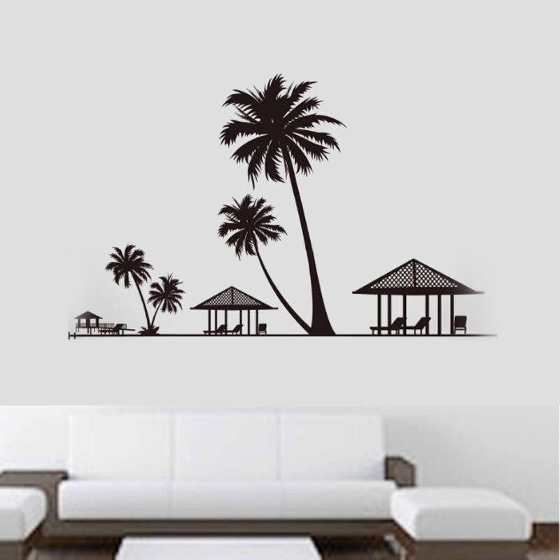 Palm Tree Wall Decor popular palm tree wall decor-buy cheap palm tree wall decor lots