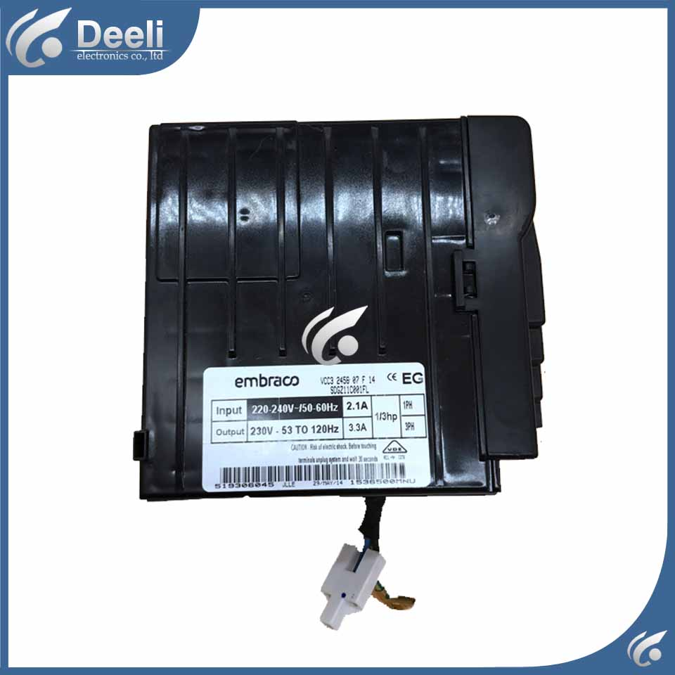 95% new for refrigerator Frequency inverter board driver board 00640001351A BCD-588WS BCD-586WS vm06 0040 n4 dual inverter new