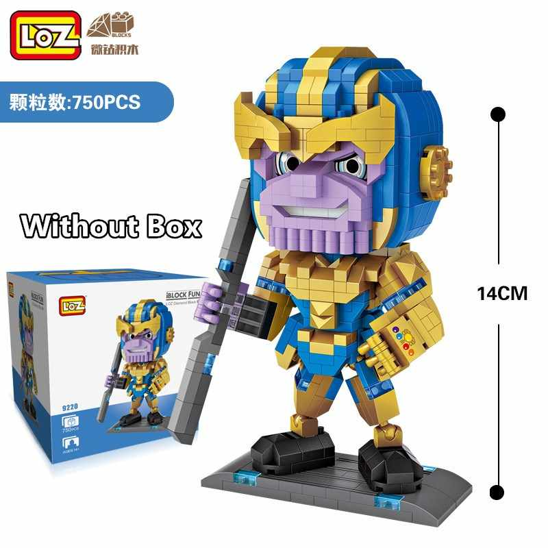 NEW Building Blocks Super Heroes Avengers Marvel Homem de Ferro Capitão América Eng Jogo Brinquedo LOZ Diamante DIY Figura Dolls Presente para o Miúdo