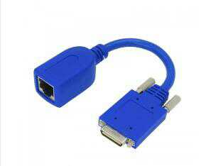 18CM Router Cable Smart Serial RJ45 female ADA-SSC-GM= for Cisco WIC-2T/WIC-2A/S HWIC-2T