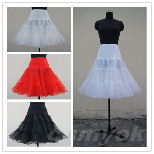 Retro Underskirt 50s Swing Vintage Petticoat Crystal Yarn Skirt Rockabilly 26 quot Long Tutu in Petticoats from Weddings amp Events