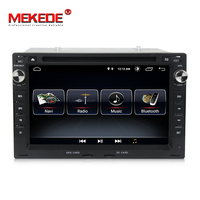 2din TDA7851 HD screen 1024*600 car dvd for VW Golf 4 DVD GPS Sharan T4 Passat B5 with gps navigator radio media mic gift