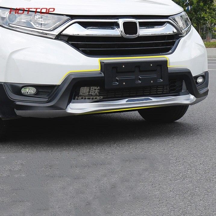 Chrome Front Rear Skid Protector Bumper Trim for 2017-2018 Honda CRV CR-V Set