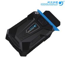 CoolCold портативный ноутбук USB Охлаждающий вентилятор воздушный охладитель скорость регулируемый ледяной Тролль 3 высокая производительность Ноутбук Вентилятор Кулер контроллер