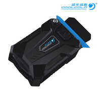 CoolCold Portable Laptop USB Cooling Fan Air Cooler Speed Adjustable Ice Troll 3 High Performance Notebook Fan Cooler Controller