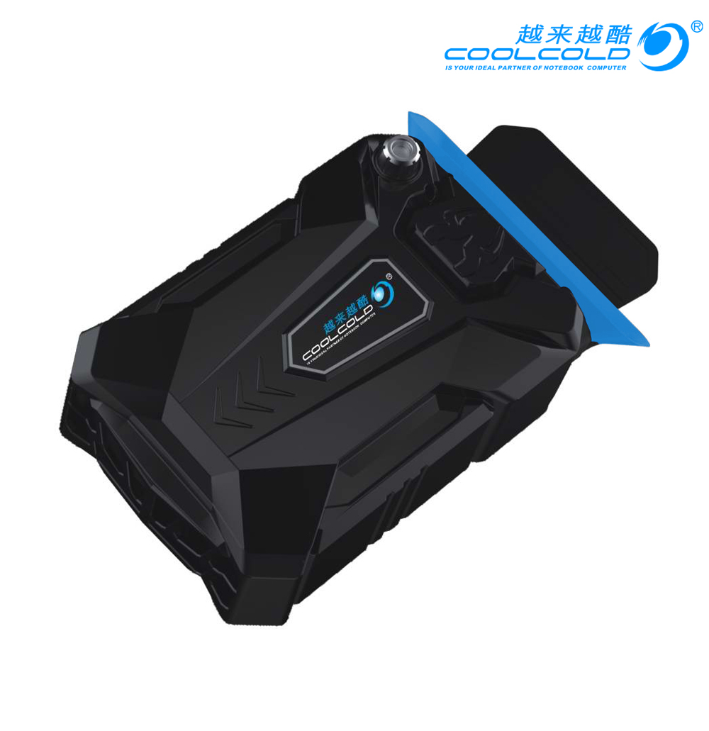 CoolCold Portable Laptop USB <font><b>Cooling</b></font> <font><b>Fan</b></font> Air Cooler Speed Adjustable Ice Troll 3 High Performance <font><b>Notebook</b></font> <font><b>Fan</b></font> Cooler Controller image