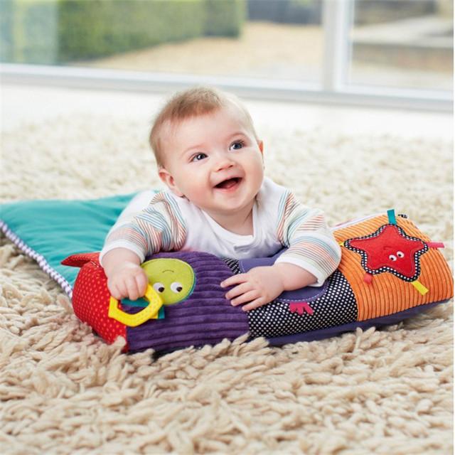 Bonito Dobrável Esteira Do Jogo Do Bebê Crianças Infantil Educação infantil Crianças Cobertor Cobertor Jogo Tapetes com Som do Sino