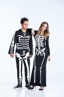 Halloween Party Zombies Costumes Women Ghost Skeleton Jumpsuits Skull Fancy Dress