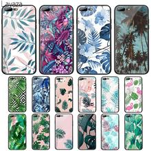 цена на Lavaza Tropical Theme Tempered Glass Case for Apple iPhone 6 6s 7 8 Plus X 5 5S SE XS 11 Pro Max XR Cover