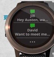 Gps Garmin vivoactive3 умные часы NFC платежи пульсометр трекер активности трекер сна фитнес трекер часы ticwatch